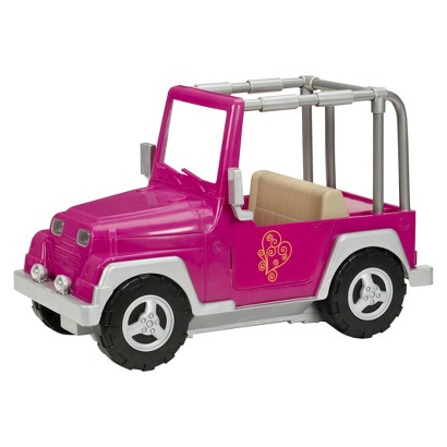 Our Generation My Way and Highways 4x4 (Fuchsia)