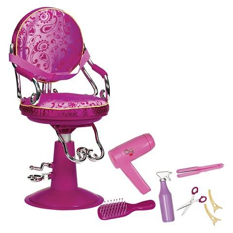 Our Generation Sitting Pretty Salon Chair (Fuchsia)