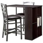 "Storage Bar & 24"" Counter Stools"