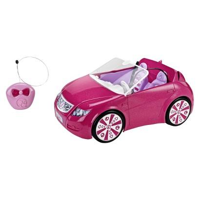 Barbie RC Convertible Car