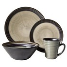 Sango Black Tropical 16-pc. Dinnerware Set