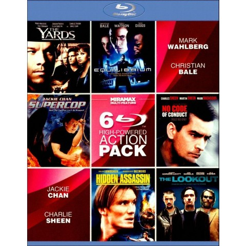High-Powered Action 6 Pack (2 Discs) (Blu-ray) (Widescreen)