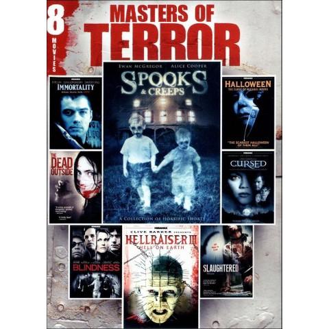 Masters of Terror: 8 Movie Pack, Vol. 2 (2 Discs) (Widescreen)