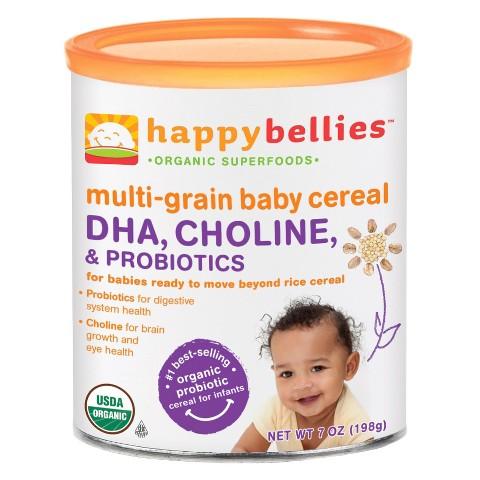 Happy Bellies Organic Multigrain Cereal - 7oz (6 Pack)