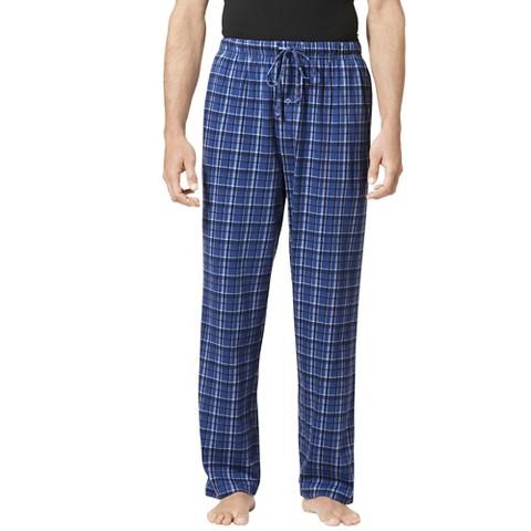 Hanes® Men's Lounge Pants - Blue Plaid