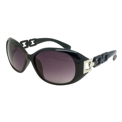Merona® Modified Oval Sunglasses - Black