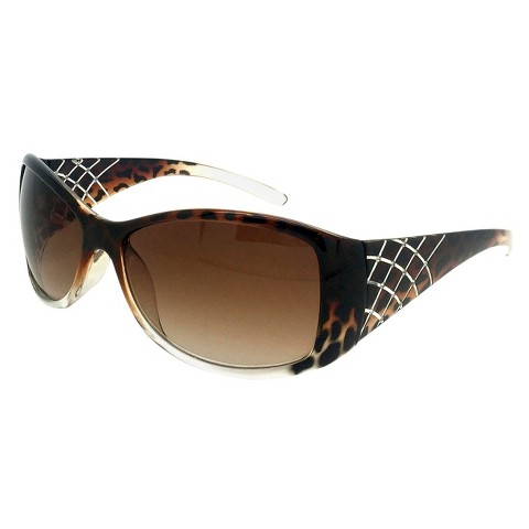 Oval Sunglasses - Brown
