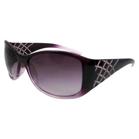 Oval Sunglasses - Purple