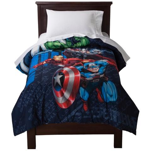 Marvel's The Avengers Shield Assemble Comforter