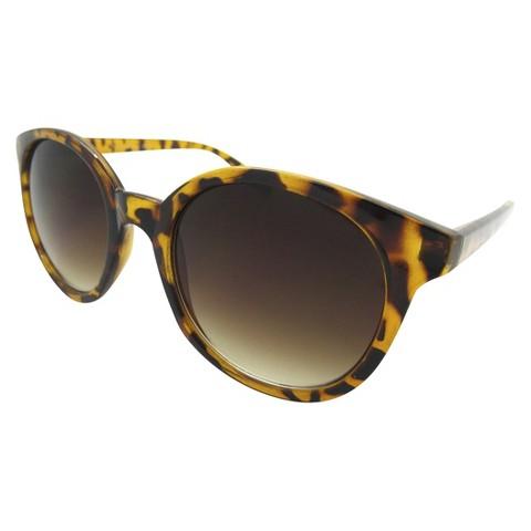 Round Sunglasses - Tortoise