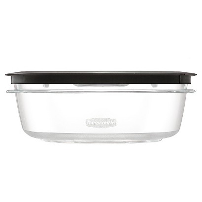RUBBERMAID 9-CP. PREMIER TINT FOOD STORAGE CONTAINER