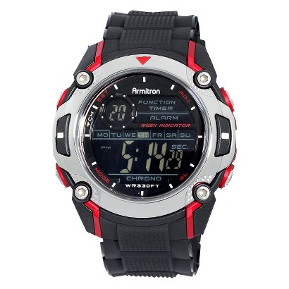 Armitron Men's Black Digital Sport Watch
