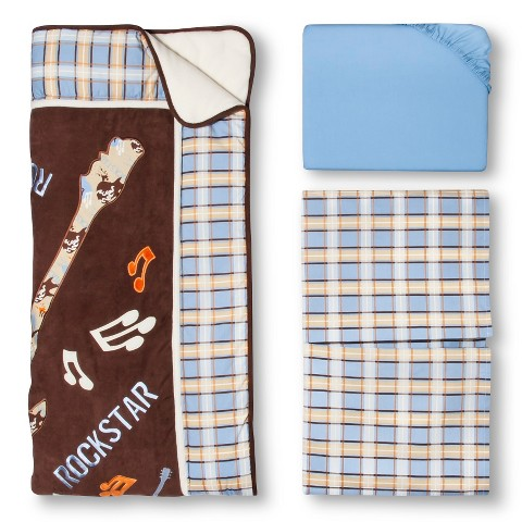 Trend Lab 3pc Crib Bedding Set – Rockstar