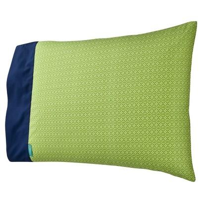 Tiddliwinks Safari Pillow Case - Blue/Green