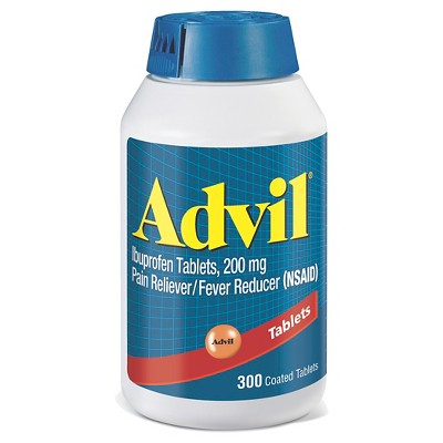 Advil® Pain and Fever Reducer Ibuprofen Tablets - 300 Count
