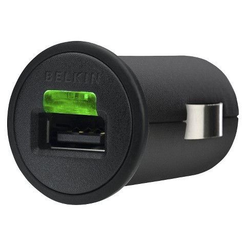 Belkin iPad Micro Car Charger - Black (F8Z689TT)