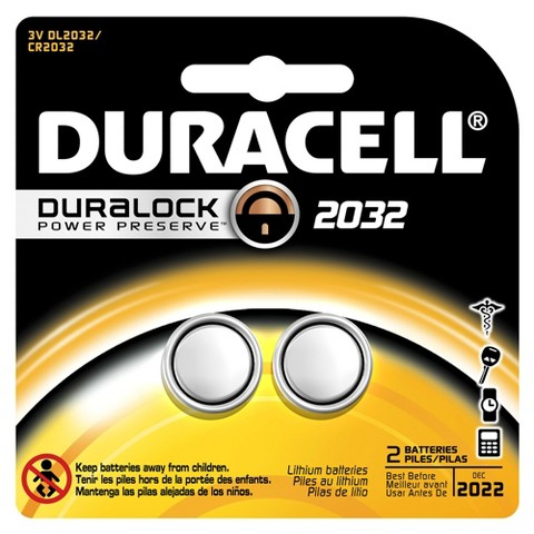Duracell Speciality Size 2032 - 2 Pack