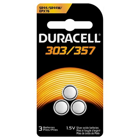 Duracell Speciality Size 303/357 - 3 Pack