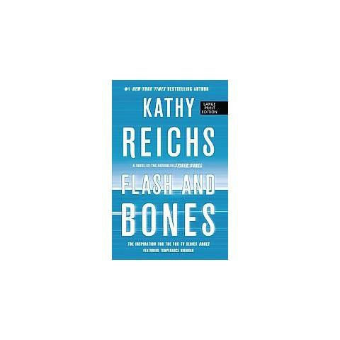 Flash and Bones (Large Print) (Paperback)