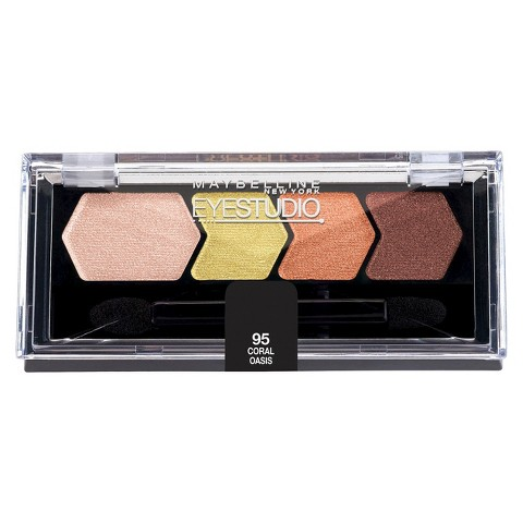Maybelline® Eye Studio® Color Plush® Silk Eyeshadow Quad