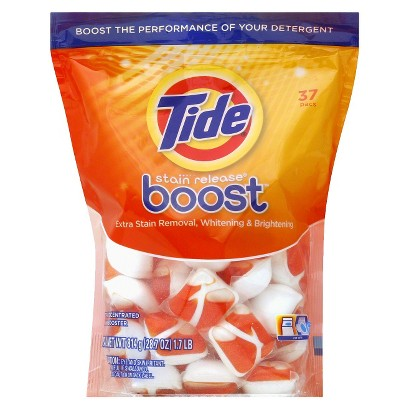 Tide Stain Release Boost In-Wash Stain Remover Pacs 37 ct (037000842750)
