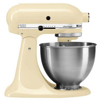 KitchenAid® Ultra Power 4.5 Qt Stand Mixer- Almond Creme KSM95