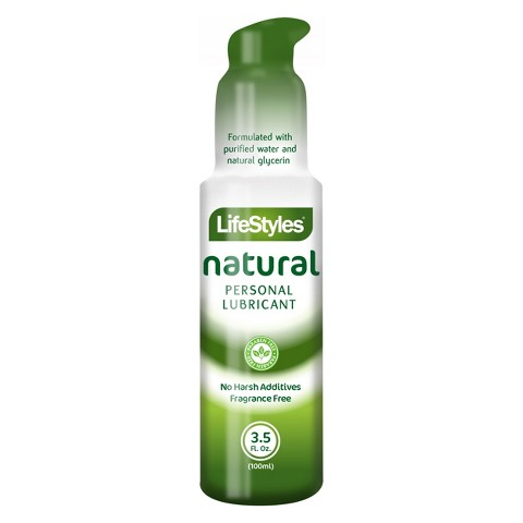 LifeStyles® Natural Personal Lubricant - 3.5 oz