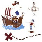 Circo® Pirate Wall Decal