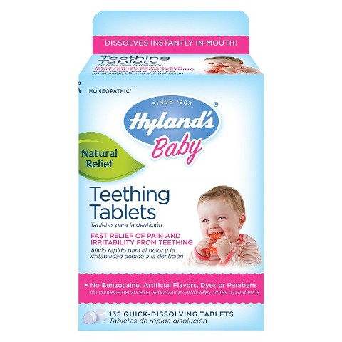 Hyland's Baby Teething Tablets - 135 Count