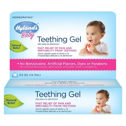 Hyland's Baby Teething Gel - 0.5 oz