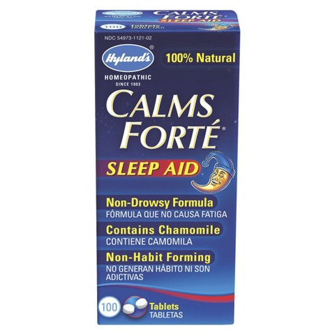 Hyland's Calms Forte Tablets - 100 Count