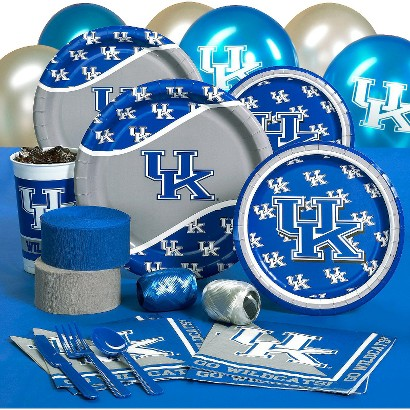 Kentucky Wildcats College Party Pack for 8 Guests