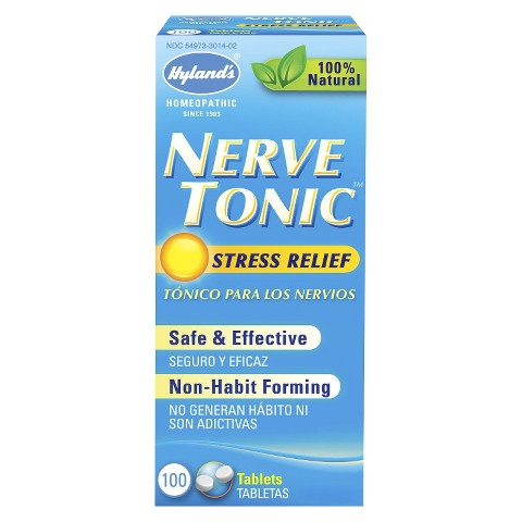 Hyland's Nerve Tonic Stress Relief Tablets - 100 Count