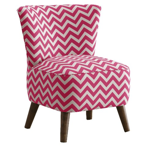 Mid Century Modern Chevron Chair - Skyline Furniture