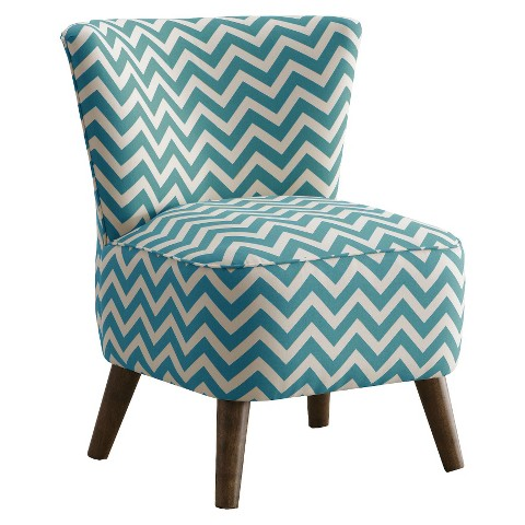 Skyline Furniture Mid Century Modern Chevron Chair