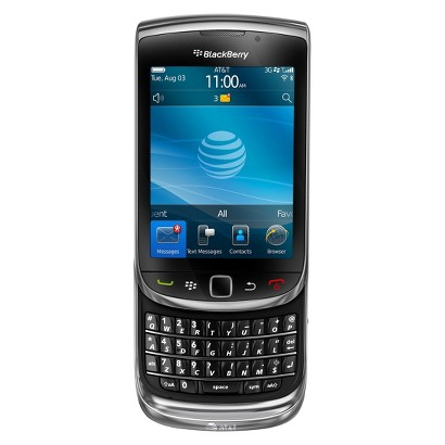 BlackBerry 9800 Factory Unlocked Cell Phone for GSM Compatible - Black