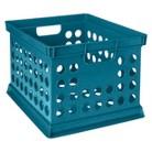 Room Essentials™ Milk Crate - Turquoise
