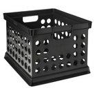 Milk Crate Storage Bin - Black - Room Essentials™
