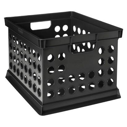 Room Essentials™ Milk Crate - Black