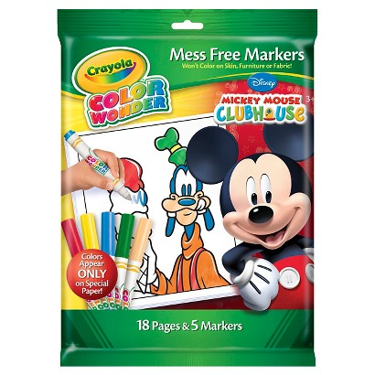 Crayola Color Wonder Markers and Paper - Disney Cars