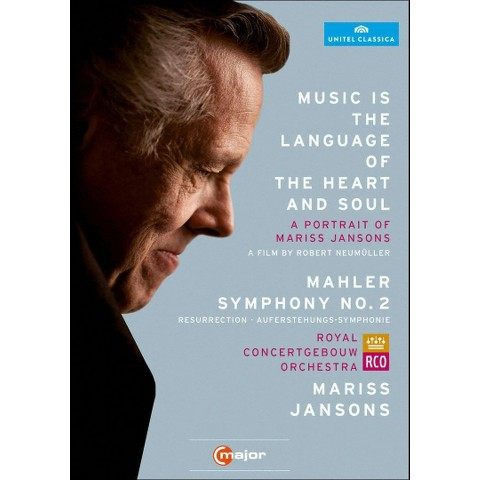 Music Is the Language of the Heart and Soul/Mariss Jansons: Mahler - Symphony No. 2 (2 Discs)
