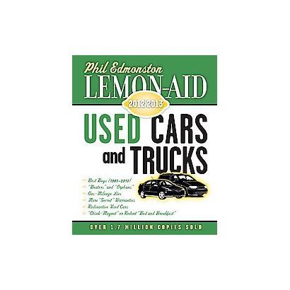 Lemon-aid Used Cars and Trucks 2012-2013 (Paperback)