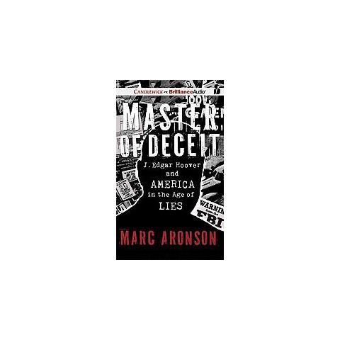 Master of Deceit (Unabridged) (Compact Disc)