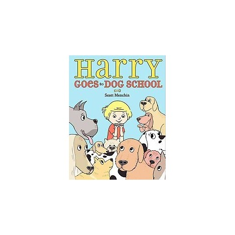 Harry Goes to Dog School (Hardcover)