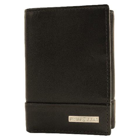 Swiss Gear - Men's Lucerne Trifold Wallet Black