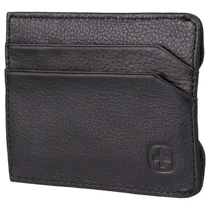 Swiss Gear Men's Sierre Front Pocket Wallet - Black