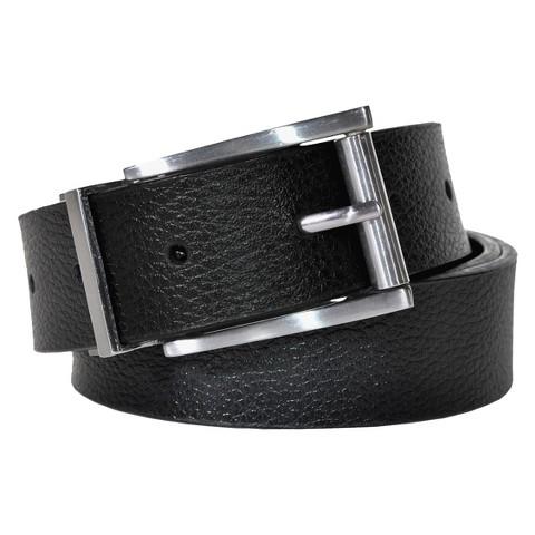 Swiss Gear Men's Genuine Leather Reversible Belt - Black/Brown