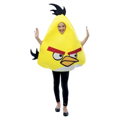 Kid's Angry Birds Costume Yellow - One Size Fits Most