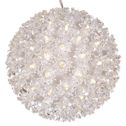Philips 100ct. Warm White Twinkling LED Sphere String Lights - White Wire - Target Exclusive