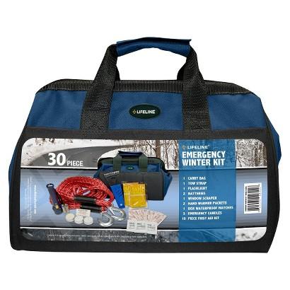 Lifeline 30-pc. Emergency Winter Kit - Blue